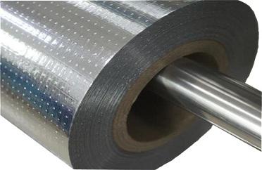 Aluminum foil woven roof sarking radiant barrier woven for Fireproof vapor barrier